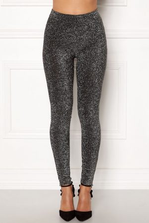 Glitrende leggings i behagelig trikot, fra HAPPY HOLLY.