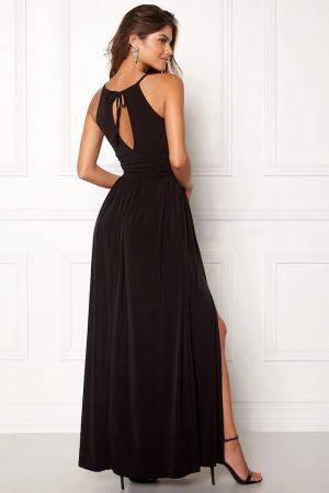 lang svart kjole