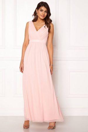 Lys rosa lang ballkjole i chiffon, fra CHIARA FORTHI - TopLady